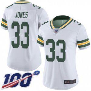 Women Packers Aaron Jones 100th Season Jersey